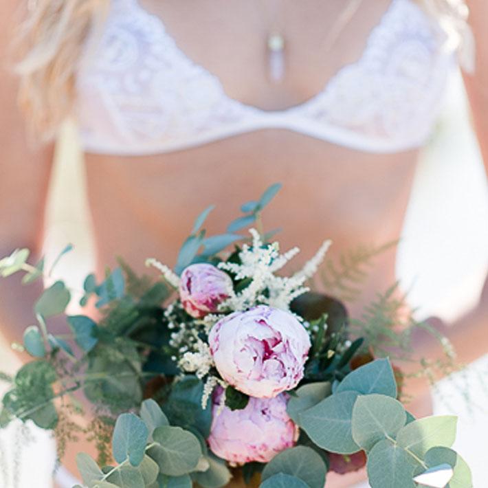 Braut BH in weiß