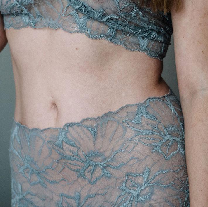 Hüftpanty transparent - Fransik