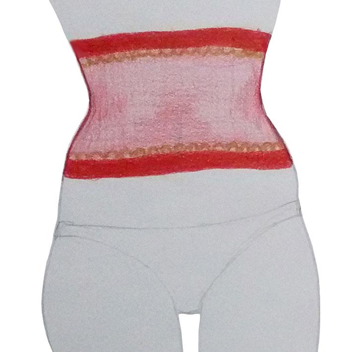 Taillenformer Entwurf - Fransik